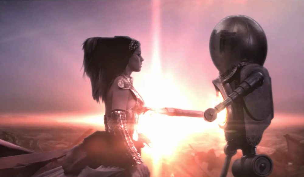 katy_perry-and-robot Katy Perry s E.T. Lyrics And Video -- Alien Deception Strikes Again